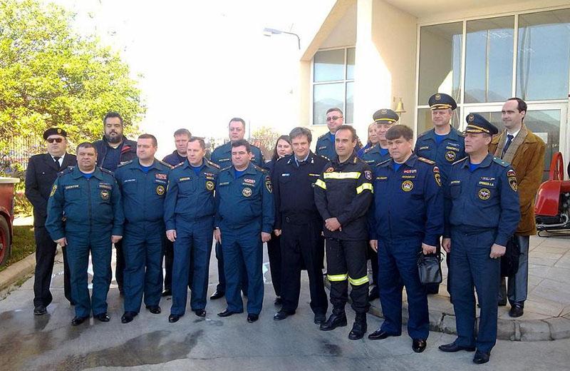 Επίσκεψη Ανώτατων Αξιωματικών της Ρωσίας